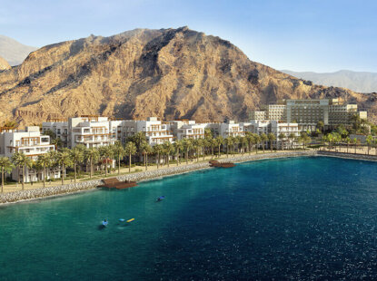 Fujairah's luxury living destination underway