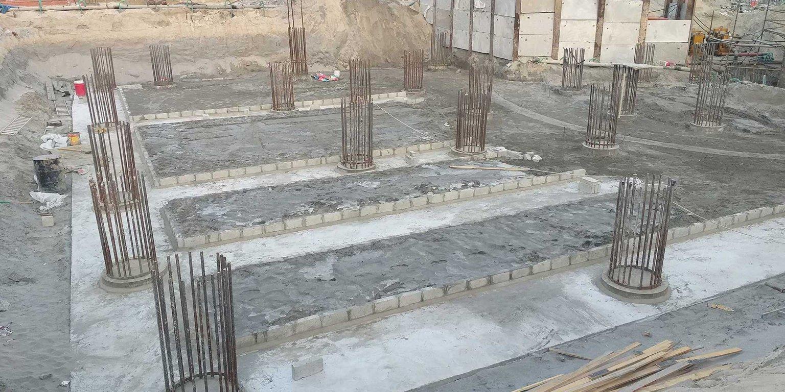 البنية الأساسية والاعمال الميكانيكية تحت الأرض قيد الإنشاء   أغسطس 2021