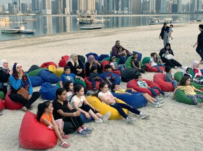 Waterfront fun continues at Maryam Island