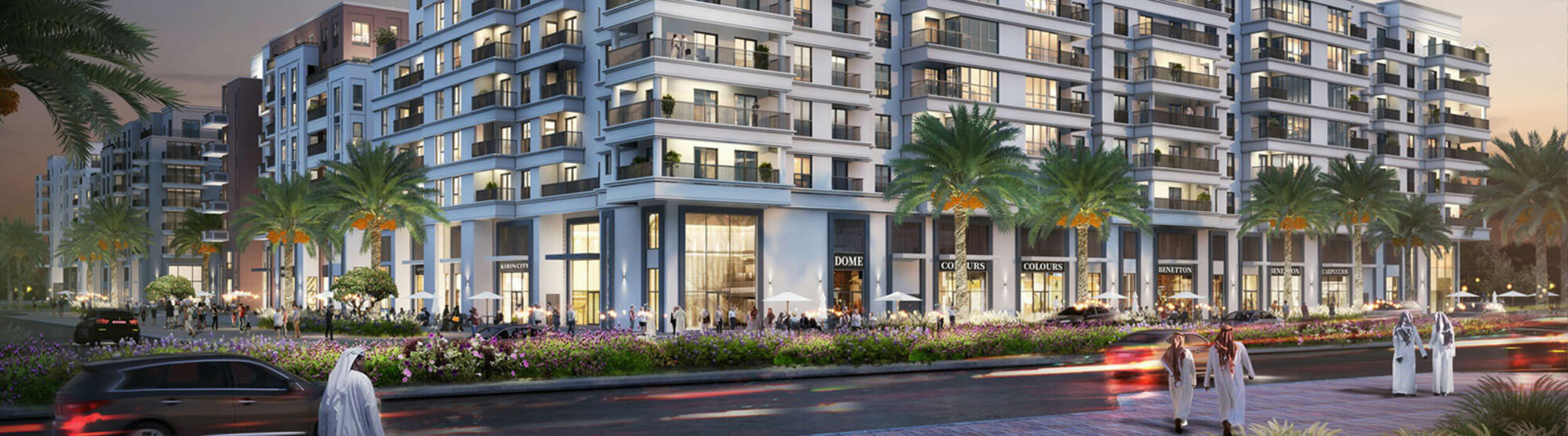 Indigo Beach Residence represents the fourth residential building launched in Maryam Island